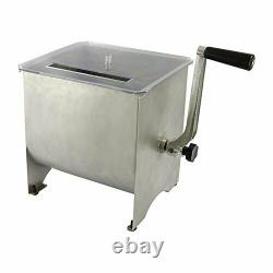 Chard MM-102, Meat Mixer with Stainless Steel Hopper, 20lbs