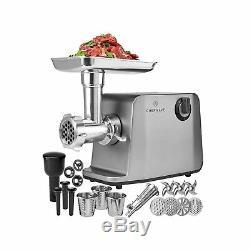 ChefWave Electric Meat Grinder FDA Approved Stainless Steel Heavy Duty 18