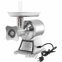 Commercial 1.5HP Electric Meat Grinder 1100W Stainless Steel Heavy Duty #22