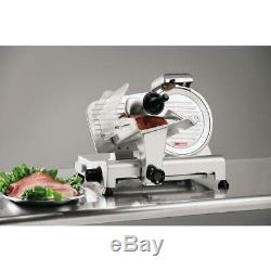 Commercial 180 W Stainless Electric Meat Sliver