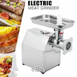 Commercial 1HP Heavy Duty 850W Stainless Steel Electric Meat Grinder CF
