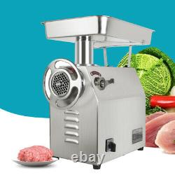 Commercial Electric Meat Grinder 1800W 350Kg/H 770Lbs/H Meat Grinder Stainless