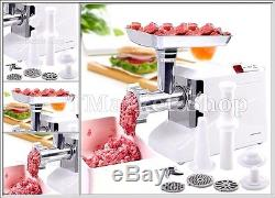 Commercial Electric Meat Grinder HEAVY DUTY Stainless Steel Sausage Automatic TM