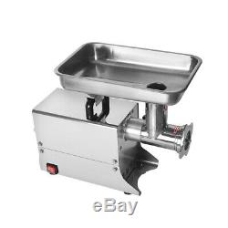Commercial Electric Meat Mincer Grinder Sausage Machine 80kg/h Stainless Steel