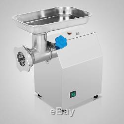 Commercial Grade 1.15HP Electric Meat Grinder 850W Stainless Steel Heavy Duty