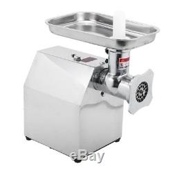 Commercial Grade 110V 850W Stainless Steel Electric Meat Grinder Heavy Duty