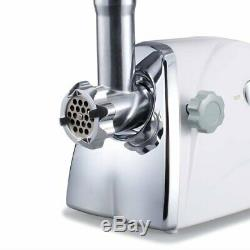 Commercial Grade 1HP Electric Meat Grinder 1100W Stainless Steel Heavy Duty