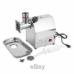 Commercial Grade 1HP Electric Meat Grinder 850W Stainless Steel Heavy WF