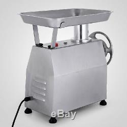 Commercial Grade Electric Meat Grinder 800W Stainless Steel Heavy Duty #22