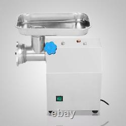 Commercial Meat Grinder 850W Electric Kitchen 2 Blades Stainless Steel