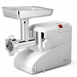 Commercial Meat Grinder Electric 3 Speeds Stainless Steel Heavy Duty 2000W 2.6HP