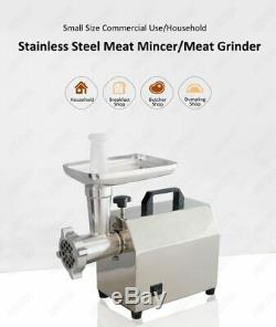 Commercial Meat Grinder Mincer Sausage Maker Machine Electric Stainless Steel