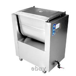 Commercial Meat Mixer for Homemade Jerky sausage Kitchen Stuffing Stainless Stee