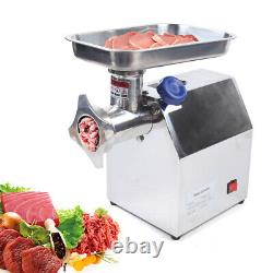 Commercial Stainless Steel Meat Grinder Heavy Duty Type12 850W 170kg/h Capacity