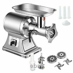 Costway Commercial Grade Meat Grinder Stainless Heavy Duty 1.5HP 1100W 550LBS/h