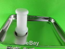 EXPEDITED SHIPPING Meat Grinder Food Chopper for Kitchenaid mixer STAINLESS