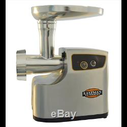 Eastman Outdoors 1 HP Professional Electric Meat Grinder, Stainless Steel