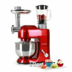 Electric 1200W Food Cake Mixer 5L Stainless Steel Mixing Bowl Set Meat Grinder