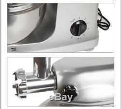 Electric Food Stand Mixer 1000W Stainless Steel Bowl Meat Grinder Professional