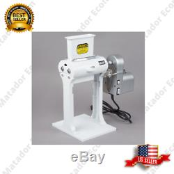 Electric Heavy Duty Meat Tenderizer Two Legs Motor Attachment Stainless Steel