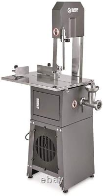 Electric Meat Cutting Band Saw and Grinder Stainless steel Table and Saw NEW