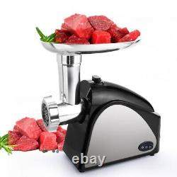 Electric Meat Grinder 2000W, Food Meat Grinders with 3 Stainless Grinding Plates