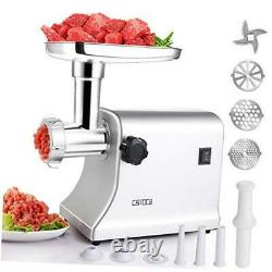 Electric Meat Grinder, 2000W Heavy Duty Multifunction Food Grinder, Stainless