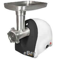 Electric Meat Grinder 500 W Stainless Steel with Sausage Stuffing Funnel Kit
