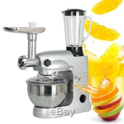 Electric Meat Grinder 5L Home Mincing Machine Stuffer Stainless Steel 1000W