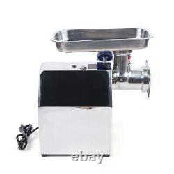 Electric Meat Grinder 850W Stainless Steel Meat Mincer Sausage Stuffer Durable
