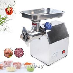 Electric Meat Grinder Home Kitchen Industrial Stainless Steel Sausage Maker 850W