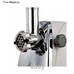 Electric Meat Grinder Home Sausage Stuffer Mincer Stainless Steel Commercial 1HP