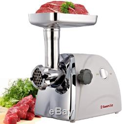 Electric Meat Grinder Mincer Sausage Grinding Machine Stainless Steel Blade 800W
