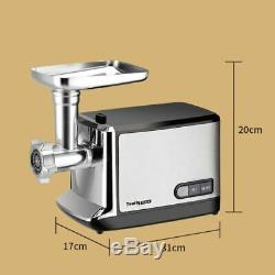 Electric Meat Grinder Stainless Steel Multifunction Stuffing Ground Pork Tool