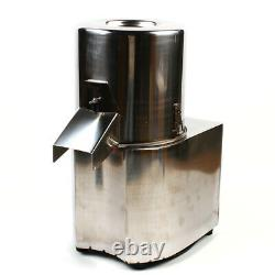 Electric Vegetable Meat Chopper Grinder Stainless Steel Adjustable Thickness