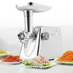 Electric healthy stainless steel industrial meat grinder homecooked meals 1300W