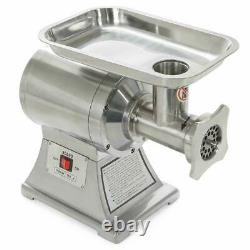 Ensue 1100W Electric Meat Grinder Mincer Stainless Steel Industrial 1HP FDA Cer