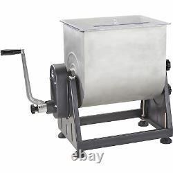 Guide Gear Stainless Steel Meat Mixer with Tilt- 7-Gallon, 33-Lb. Capacity