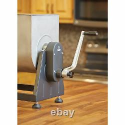 Guide Gear Stainless Steel Meat Mixer with Tilt 7-Gallon, 33-Lb. Capacity