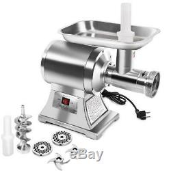 Gymax Commercial Grade 1Hp Electric Meat Grinder 1100W Stainless Steel Heavy Dut
