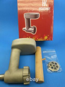 Heavy Duty Cast Stainless Steel Meat Grinder Chopper for Kitchenaid mixer