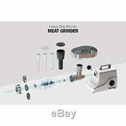 Heavy Duty Electric Meat Grinder 2/3 (500W), 3-Speed Stainless Steel Cutting