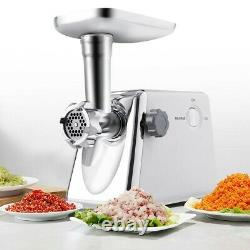 Heavy Duty Electric Meat Grinder Commercial Industrial Stainless Steel 1300 W
