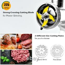 Heavy Duty Electric Meat Grinder Pusher Commercial Stainless Steel Industrial