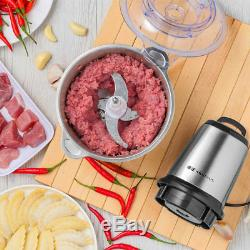 Household meat grinder electric stainless steel small broken kitchen appliances