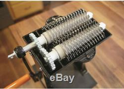 Jerky Tenderizer Slicer Meat Blades Combs Stainless Steel 2 In 1 Hand Crank New