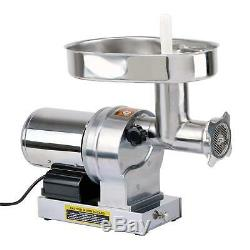KITCHENER #32 Heavy Duty Commercial Grade Electric Stainless Steel High HP Meat
