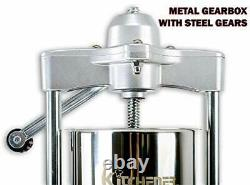 KITCHENER Elite Super Heavy Duty Commercial 15 lbs Stainless Steel Sausage