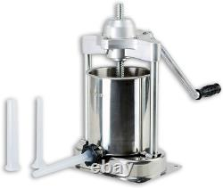KITCHENER Elite Super Heavy Duty Commercial 15 lbs Stainless Steel Sausage 3 & &