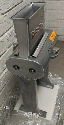 KITCHENER- Heavy Duty Stainless Steel Vertical Meat Tenderizer and Jerky Slicer
